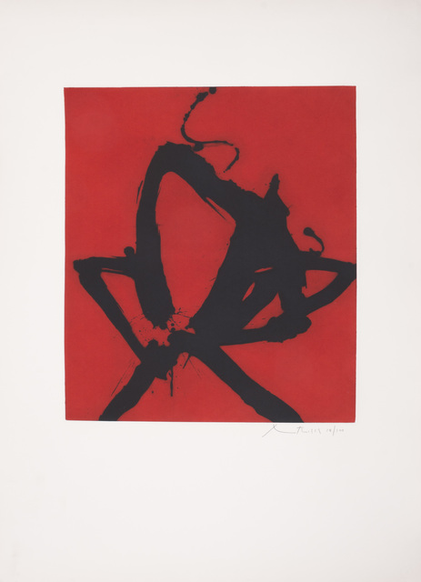 , 'Red Sea I,' 1976, Merritt Gallery