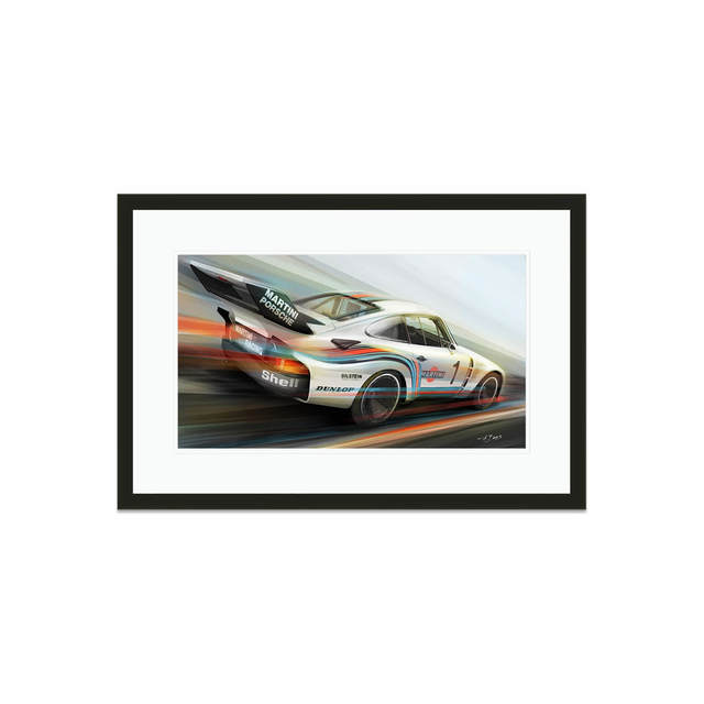 Frederic Dams, 'Martini Racing Porsche 935 | Automotive', 2018, Whyte Fine Art