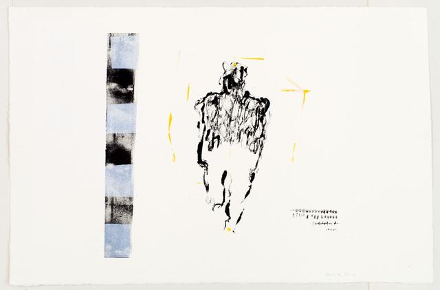 Endale Desalegn, '1 is enough, but to move, no', 2015, David Krut Projects