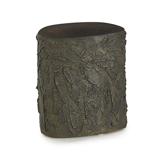 Paul Evans, 'Sculpted Bronze side table, USA', 1972, Rago