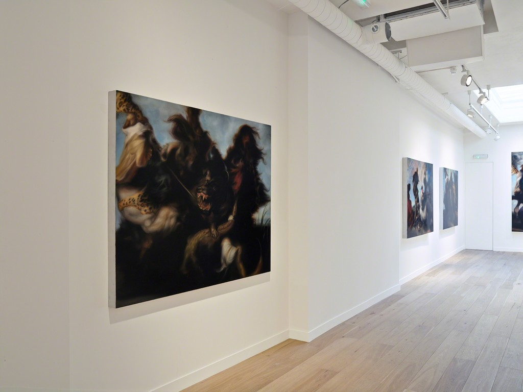 Hugo Wilson, Installation view, Parafin, London, 2015. Photo: Peter Mallet