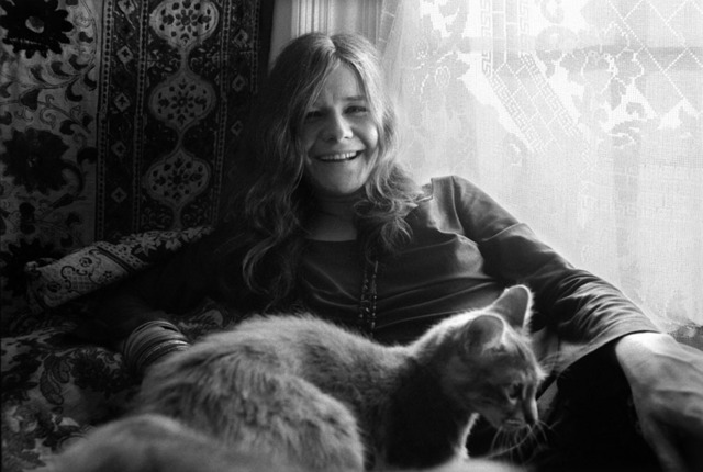 , 'Janis Joplin with cat ,' , Gallery 270