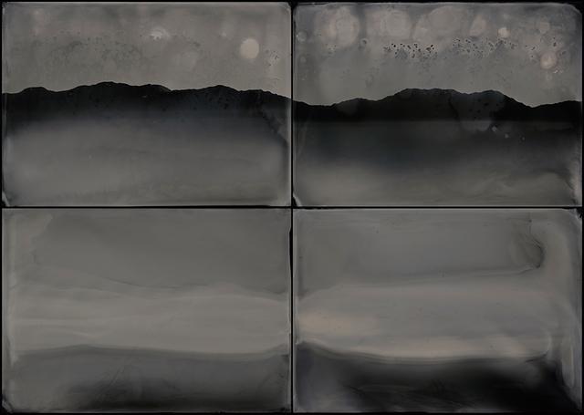 , 'Elemental Forms, Landscape no. 38 (Quadriptych),' 2018, HackelBury Fine Art