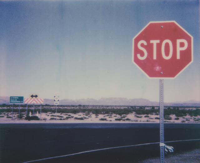 Kirsten Thys van den Audenaerde, 'What I think she sees', 2020, Photography, Digital C-Print, based on a Polaroid, Instantdreams