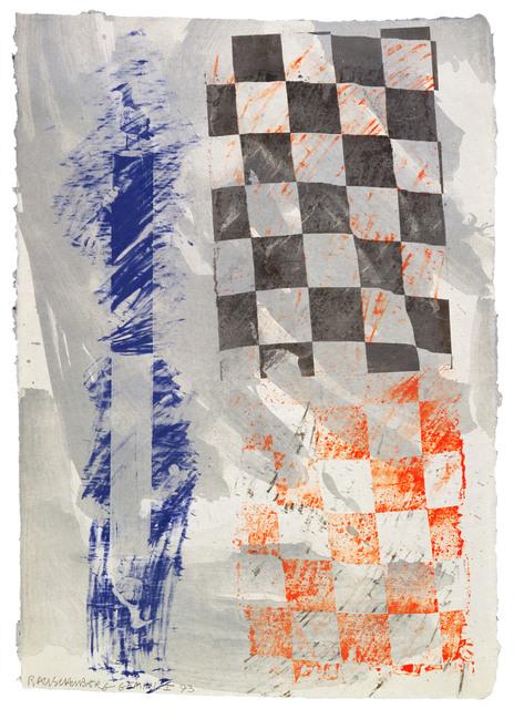 Robert Rauschenberg, 'Grid Gull', 1993, Gemini G.E.L.