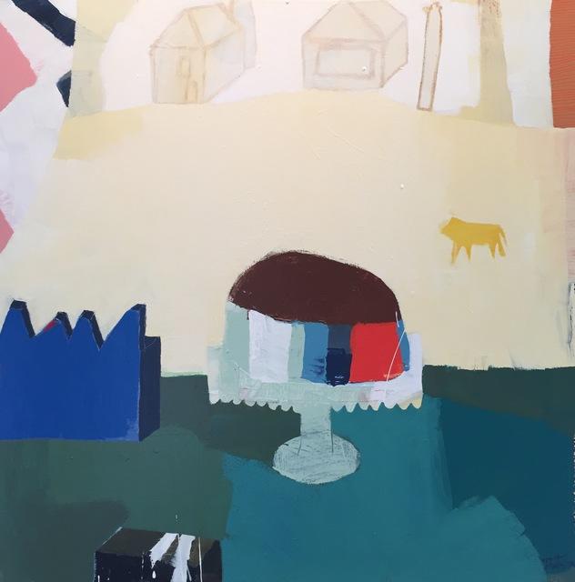 , 'Striped Cake,' 2017, M.A. Doran Gallery