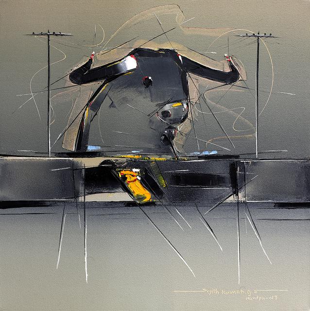 Sujth Kumar G.S. Mandya, 'Bull Painting - 54', 2004, MayinArt