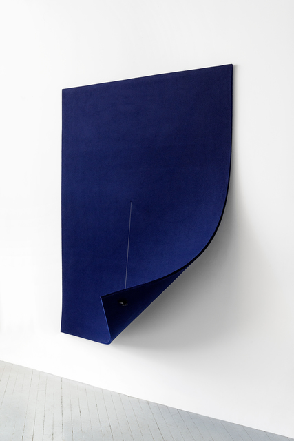 , 'Work On Felt (Variation 10) Midnight Blue,' 2016, Spinello Projects