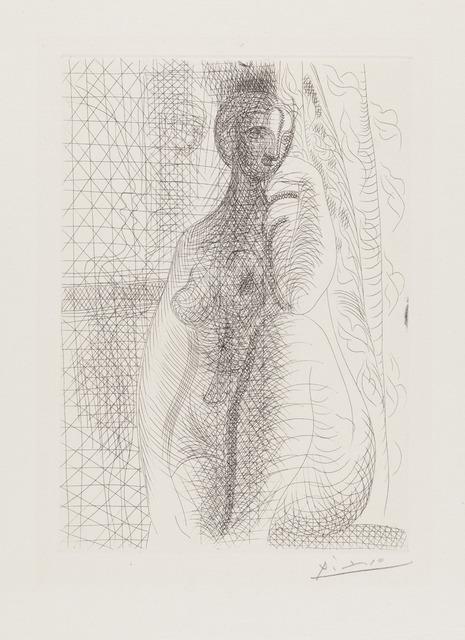 Pablo Picasso, 'Femme nue à la jambe pliée', July 9-1931, Galerie d'Orsay