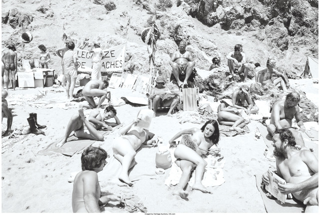 Tod Papageorge, 'Zuma Beach, California and Downtown Pasadena (two photographs)', 1978, Heritage Auctions