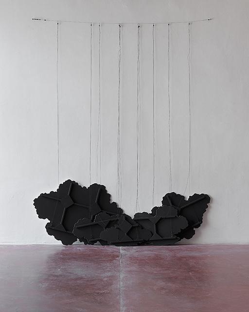 , 'Untitled (Black Clouds),' 2015, Dvir Gallery