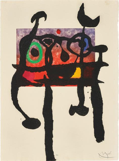 Joan Miró, 'Le Samouraï (The Samurai)', 1968, Phillips