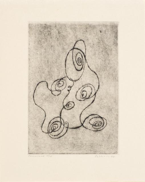 Josef Albers, 'Concerned', 1940, Cristea Roberts Gallery