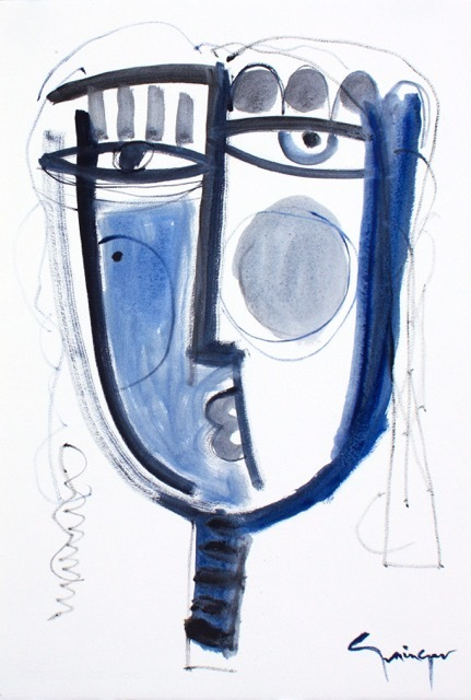 Lesley Grainger, 'Blue No.2', 2018, Artspace Warehouse