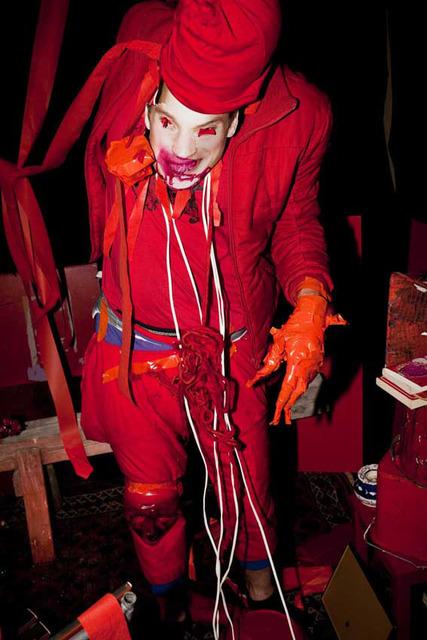 , 'Untitled (red monster),' 2012, Nicola von Senger