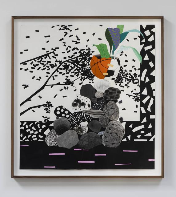 , 'orange abstract,' 2015, John Wolf Art Advisory & Brokerage