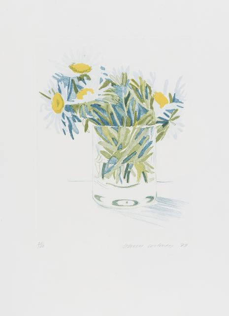 David Hockney, 'Marguerites', 1973, RAW Editions