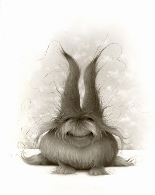 , 'Dust Bunny,' 2015, William Baczek Fine Arts