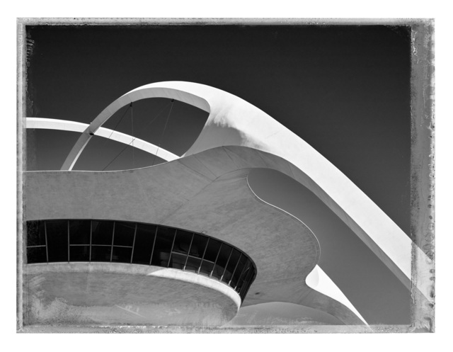 Christopher Thomas, 'Theme Building II, Los Angeles', 2017, Photography, Pigment print on Aquarelle Arches paper, Galerie XII