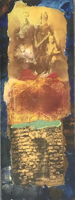 Arthur Sarkissian, 'Family 10', 2006-2007, Painting, Mixed media on canvas, Tufenkian Fine Arts
