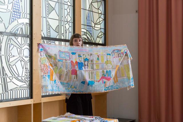 , 'Graduation scarf commission for Kunstakademie Düsseldorf,' 2017, Syndicate