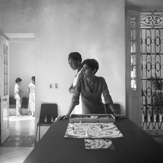 Carrie Mae Weems, 'Dreaming in Cuba: Wilfredo, Laura, and Me,' 2002, Pippy Houldsworth Gallery
