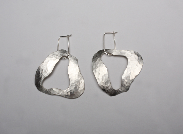 , 'Cloud Earrings in Sterling Silver,' 2015, Valerie Goodman Gallery