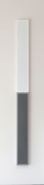 , 'White and black paintings in white and gray frames,' 2008, Quint Gallery