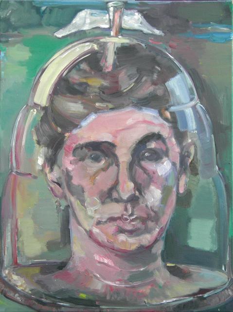 Simona Deflorin, 'von der Wichtigkeit des Umtopfens', 2013, Painting, Oil on Canvas, Lakeside Gallery