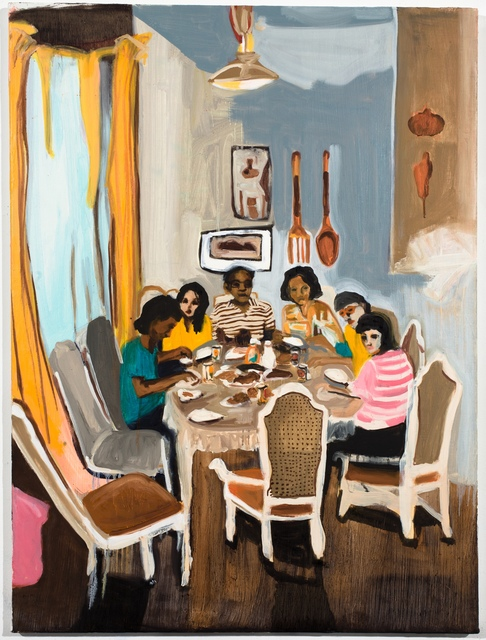 , 'The Old Table,' 2014, Taymour Grahne Projects