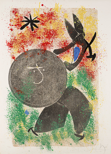 Joan Miró, 'Untitled', Print, Colored lithograph, Il Ponte