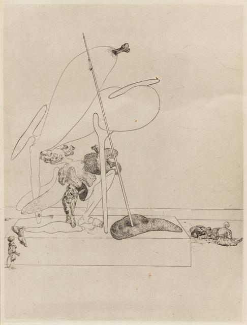 Salvador Dalí, 'Les Chants de Maldoror', 1934, Print, Heliogravure and Drypoint, Hindman
