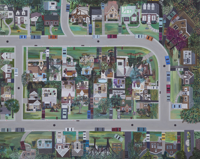 , 'Around the Block (Ohio),' 2017, Zevitas Marcus