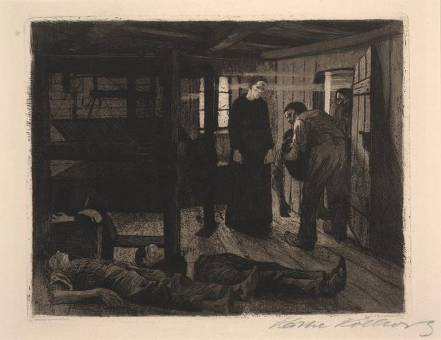 Käthe Kollwitz, 'The End from The Weaver's Revolt', 1897, Dallas Museum of Art