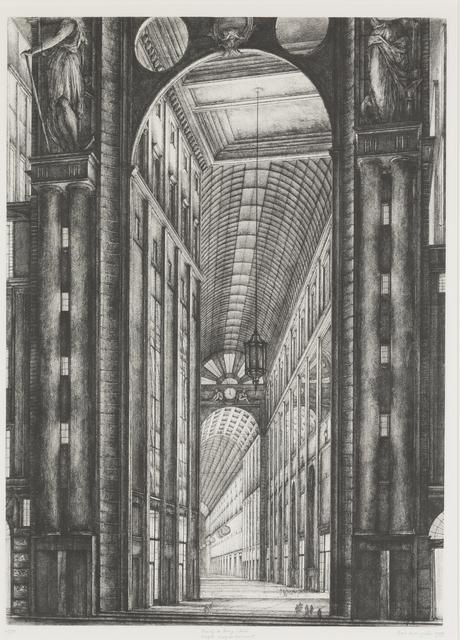 , 'Passage du Bourg l'Abbé,' 1989, Childs Gallery