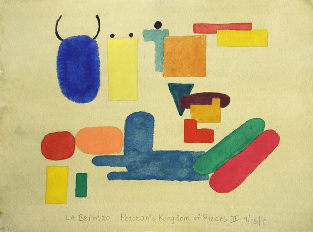 L.B. Berman, 'Peaceable Kingdom of Pieces II', 2017, Fountain House Gallery