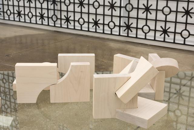 Edra Soto, 'Remnants | Restos', 2021, Sculpture, Maple and painted cherry, Morgan Lehman Gallery