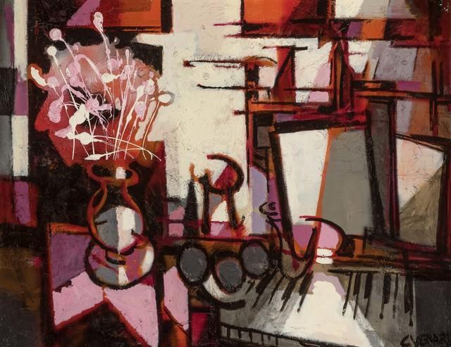 Claude Venard, 'Symphonie en Rose', Painting, Oil on canvas, Doyle