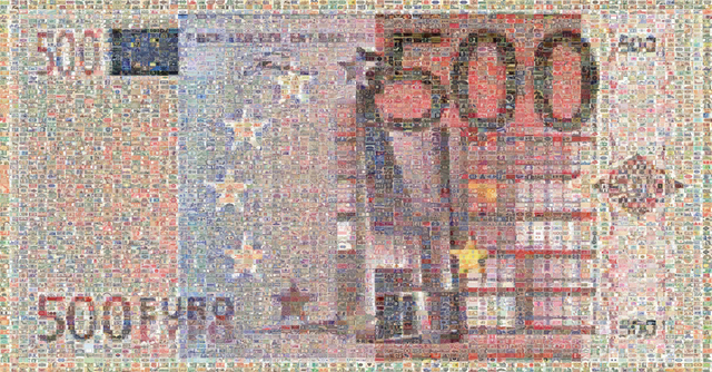 , 'Euro 500,' 2003, Tangent Contemporary Art