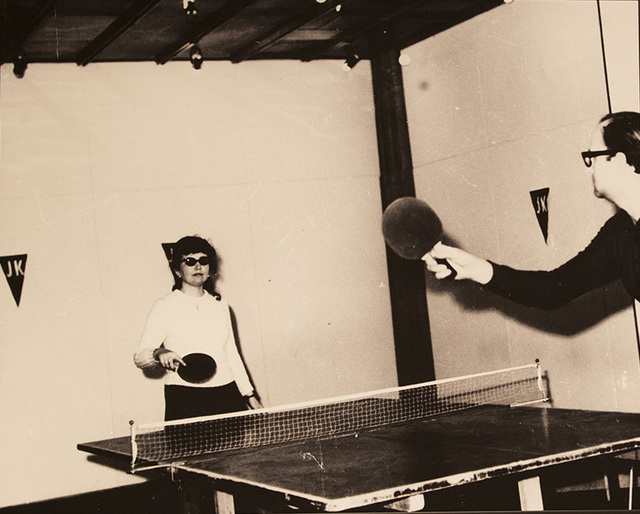 , 'JK - Ping-Pong Club 1 (U.F.O.), Actions Environment,' 1970, Garage Museum of Contemporary Art