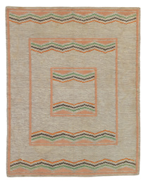 Eliel and Loja Saarinen, 'Rug for the Koebel House, Grosse Point Farms, Michigan,' circa 1938, Sotheby's: Important Design