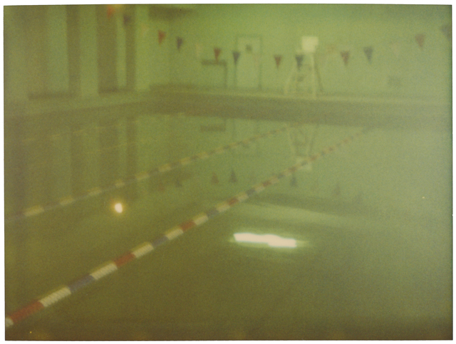 Stefanie Schneider, 'Green Pool', 2004, Photography, Analog C-Print, hand-printed by the artist on Fuji Crystal Archive Paper, matte surface, based on a Polaroid, Instantdreams