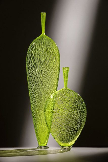 , 'CHARTREUSE LEAF PAIR,' 2018, Traver Gallery