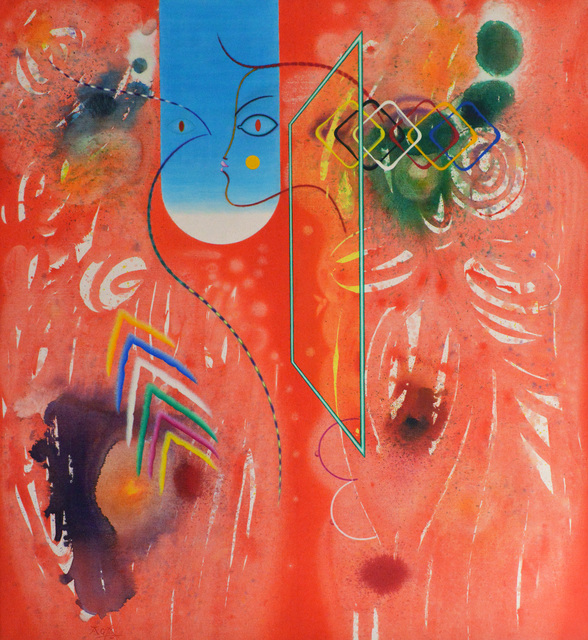 , 'Razmišljanje o onostranom svijetu III,' 2000, Museum of Modern Art Dubrovnik