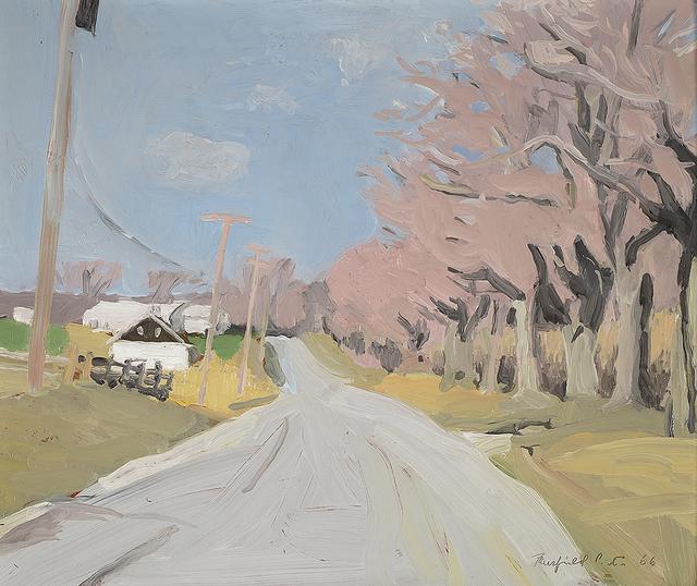 Fairfield Porter, 'Cobb Road, Water Mill in April', 1966, Questroyal Fine Art