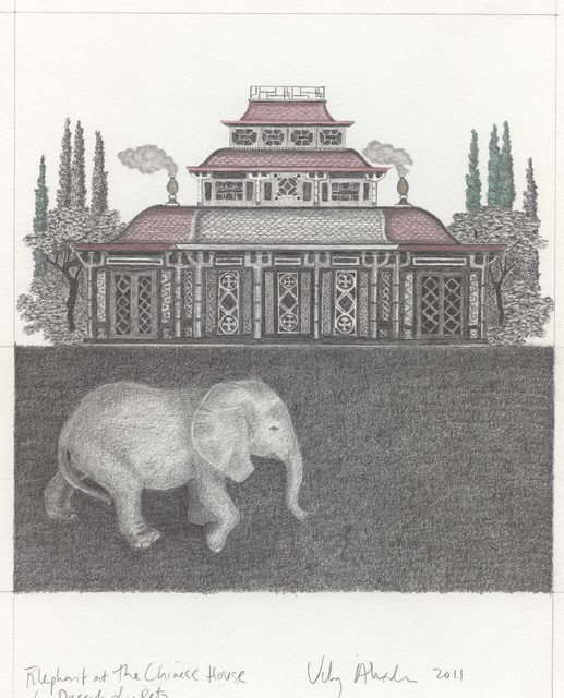 , 'Elephant at the Chinese House,' 2011, Wilding Cran Gallery