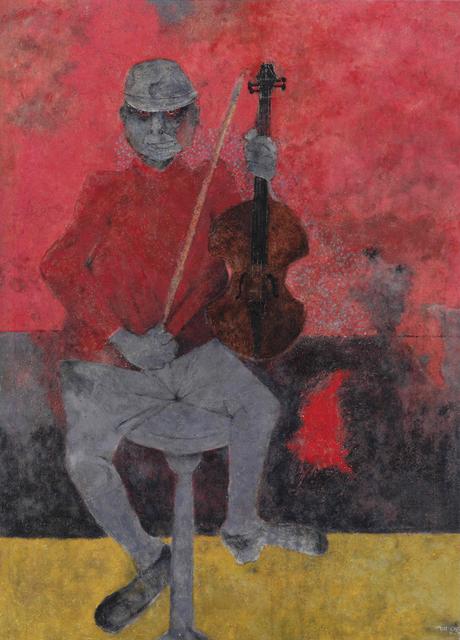 , 'El Muchacho del Violin,' 1990, Gary Nader