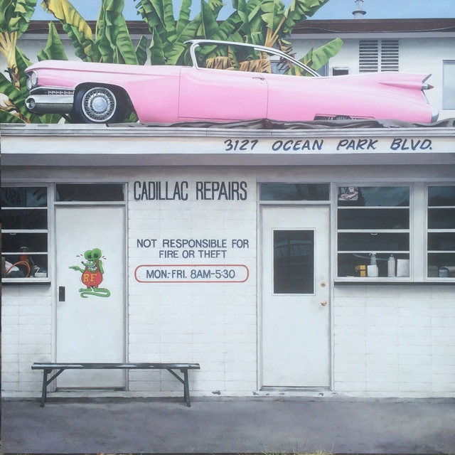 , 'Cadillac Repair,' 2017, The Front Gallery