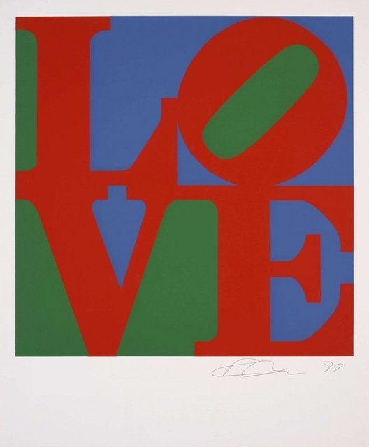 Robert Indiana, 'Classic LOVE, 1996', 1996, Print, Colour Silkscreen, Lougher Contemporary Gallery Auction