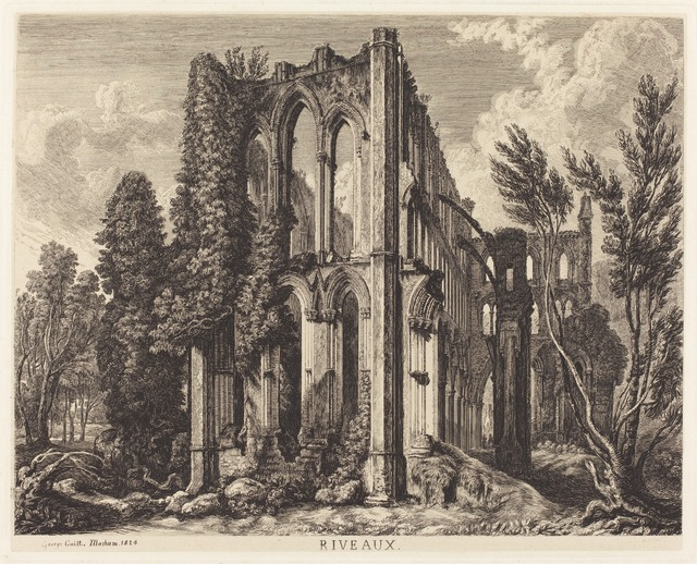 George Cuitt the Younger, 'Riveaux', 1824, Print, Etching on papier mince, National Gallery of Art, Washington, D.C.
